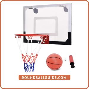 Goplus 18'' x12'' Mini Basketball Hoop
