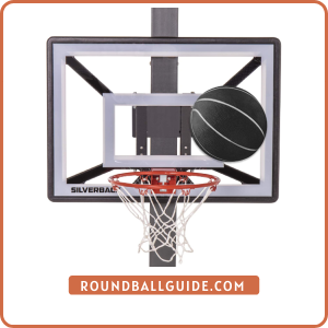 "Silverback Junior Youth 33"" Basketball Hoop"